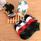 Plant Marijuana Cannabis Print Healthy Weed Maple Leaf Life Short Crew Socks