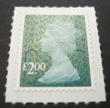 2009 U2914 £2.00 Slate Green DLR Overprint - No Date or Source Code SA Machin