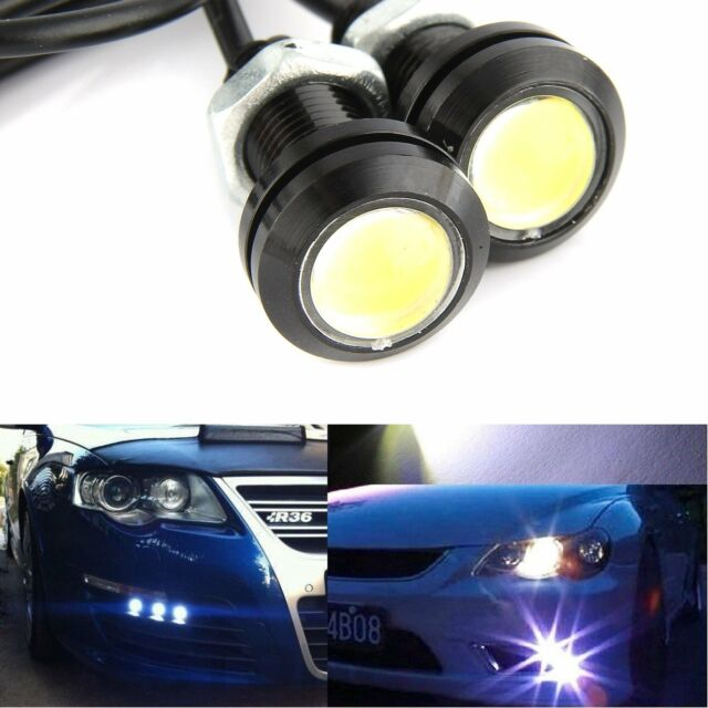Electric Vehicle Parts 10x 9w 12v Car Led 18mm Eagle Eye Daytime Running Drl Tail Light Backup Lamp Accessories