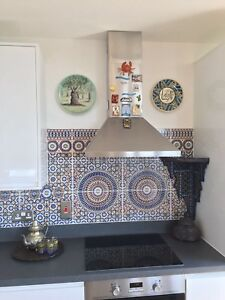 Image Is Loading Moroccan Tiles Turkish Feature Wall Tile Kitchen