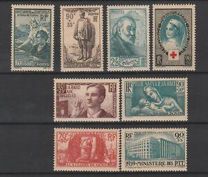 FRANCOBOLLI-1938-FRANCIA-MNH-Z-9760