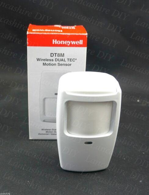 Honeywell Wireless 15m x 18m Dual Tec Pet Immune Motion Sensor DTP8M