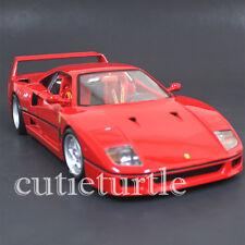 Bburago Original Series Ferrari F40 F-40 1:18 Diecast Model Car 18-16601 Red