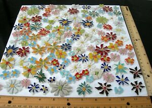 1 Sq Ft Broken China Plate Mosaic Tile 130 Blue Red Small Large