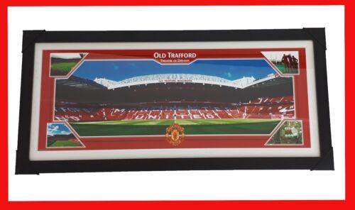 Manchester United teatro dei sogni incorniciato POSTER 81.5 cm X 35cm