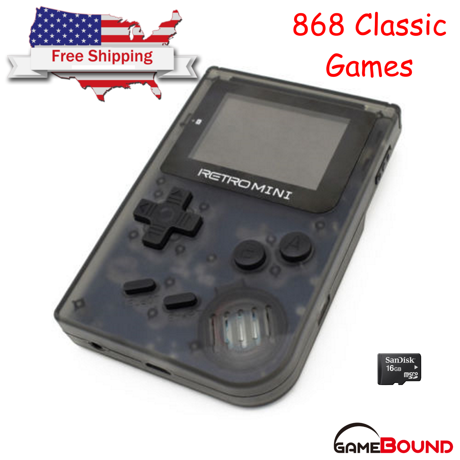 Handheld Gaming Systems: GBA Retro Mini