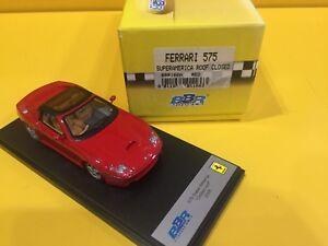 Modèles Bbr Bbr166a - Ferrari 575 Superamerica Toit Fermé 2005 Rouge