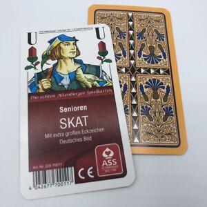 À partir de 2,43 € pièce Senior Skat Club image allemande, cartes à jouer au bleuet Frobis