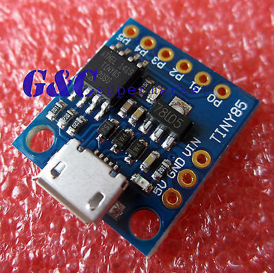 2PCS Digispark Kickstarter ATTINY85 General Micro USB Development Board M66