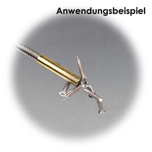 Magnetstab 500mm flexibler Schwanenhals Schaft Magnetheber Magnetgreifer Magnet