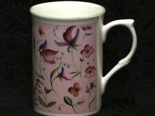 ROSE of ENGLAND FLOWERING LEGUMES PLANTS Fine Bone China Cylinder Medium Mug #2