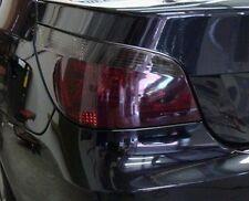 04-10 BMW 5 SERIES E60 SMOKE TAILLIGHT PRECUT TINT COVER SMOKED OVERLAYS