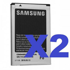 2x-New-OEM-Samsung-Liion-Battery-EB404465VA-For-Restore-SPH-M575-SPHM575-1140mAh