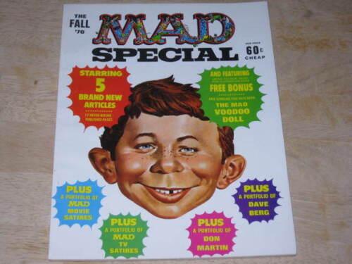 MAD Magazine Special #1     Fall 1970    w// Attached Bonus     Near Mint