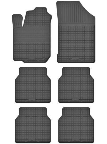 6-Set di parti 3 SERIE TAPPETINI IN GOMMA TAPPETINI 1.5 cm BORDO CITROEN c8 2002-2012