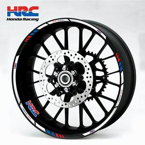 Honda-HRC-motorcycle-wheel-decals-12-rim-stickers-laminated-set-cbr-1000rr-600rr