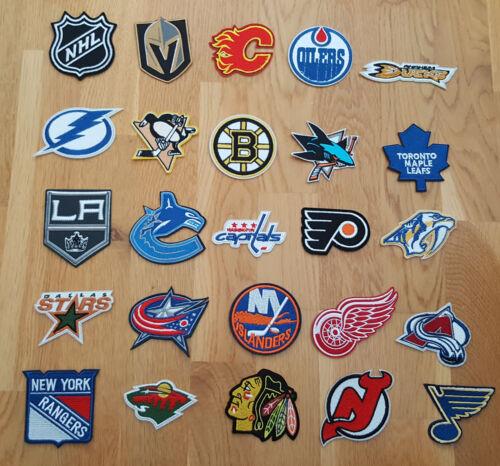 1 x NHL Patch Aufnäher diverse Teams