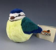 Kosen BLUE TIT Bird w/TAGS Germany Plush Toy German Blue Green Yellow Great 5680