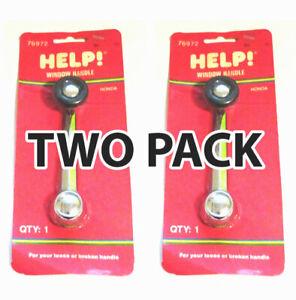 Pair-of-2-Help-76972-Window-Crank-Handle-for-73-77-Honda-Accord-Civic-N600-Z600