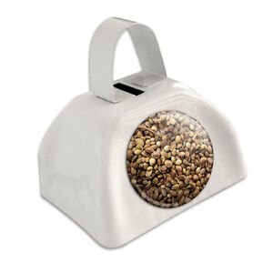 Marijuana Seeds (Image Only) White Cowbell Cow Bell