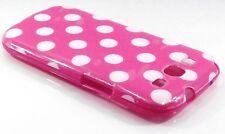 Samsung Galaxy S3 i9300 Pink  Case Skin Cover Polka  dot  Spots