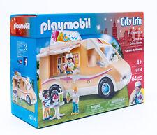 Playmobil 9114 City Life Eiswagen USA Ice Cream Truck 64 Teile mit Zubehör NEU