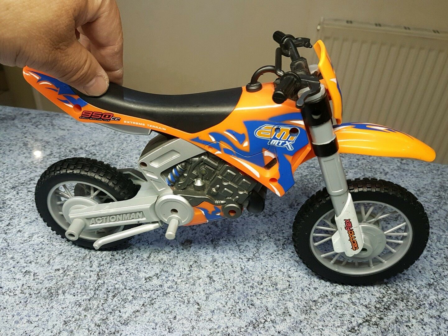 1 6 scale Action Man Mountain Motorbike MBR MBR MBR for 12 inch figure b29398
