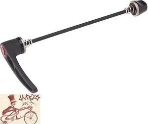 DT-SWISS-RWS-MTB-STEEL-135MM-QUICK-RELEASE-ALLOY-LEVER-BICYCLE-BLACK-HUB-SKEWER