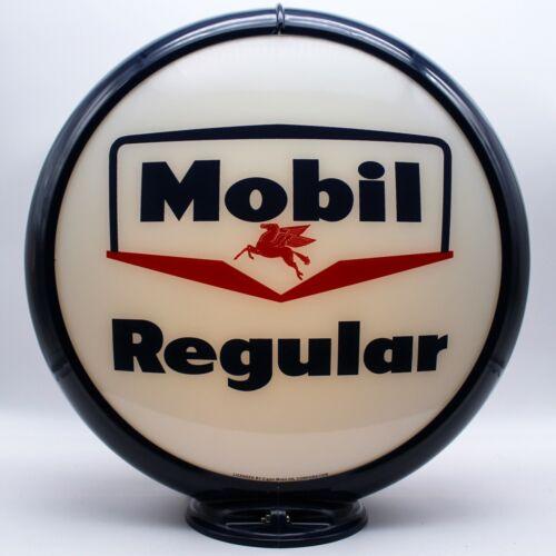 "Mobil Regular 13.5/"" Gas Pump Globe"