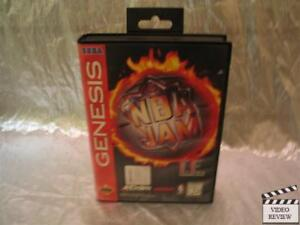 NBA Jam T.E. (Sega Genesis, 1995) No Instructions
