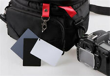 3in1 18% Gray/White/Black Card Set For Digital Photography Exposure Balance