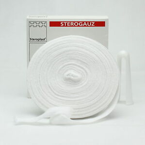Tubular Gauze Cotton Sterogauz Size 12 Large Fingers 2.5cm x 20m Free Applicator