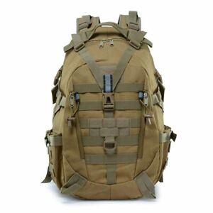 Backpack-Camping-Bag-Tactical-Rucksack-Camo-Assault-Molle-Trekking-Military
