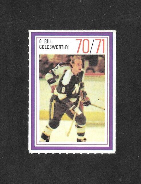 1970-71  ESSO POWER PLAYER , BILL GOLDSWORTHY , MINNESOTA NORTH STARS