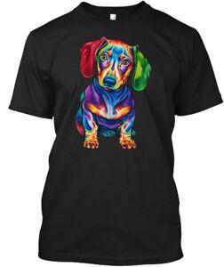 Dachshunds-Lover-Hanes-Tagless-Tee-T-Shirt