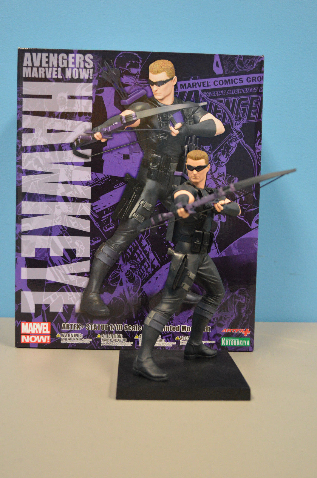 MARVEL COMICS AVENGERS NOW HAWKEYE ARTFX+ STATUE