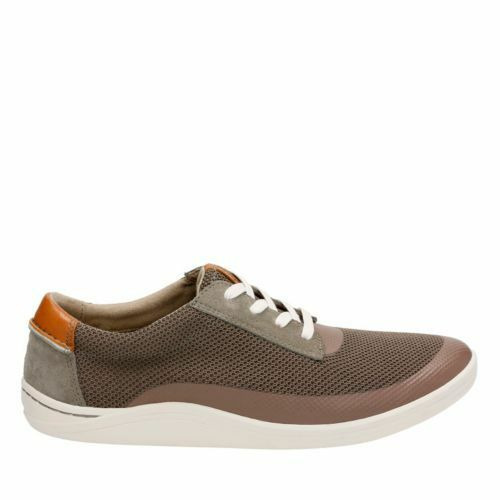 Clarks   Herren Mapped Edge Olive Casual Textile Comfy Schuhes Schuhes Comfy Trainers, UK 6 G Fit e0c57e