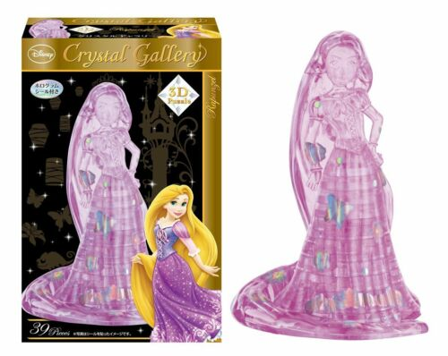 RAPUNZEL 3D PUZZLE 39 PIECES DISNEY CRYSTAL GALLERY 3D FREE SHIPPING