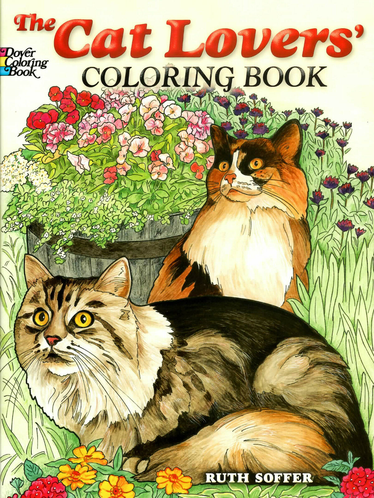 Dover Nature Coloring Book Ser The Cat Lovers By Ruth Soffer 2007