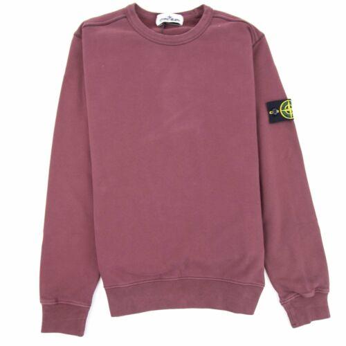 Stone Island Crewneck Sweatshirt Burgundy V0011