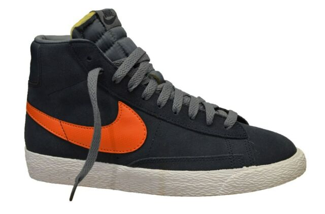 brand new 8bd94 8e6c2 Nike Blazer Mid Vintage Older Boys Armry Navy (F9) Trainers All Sizes