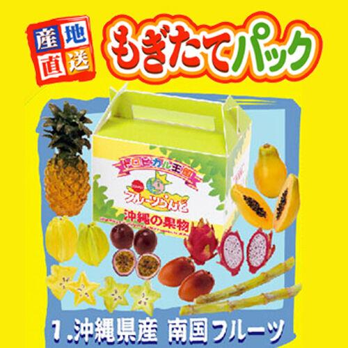 Rare Re-ment Miniature Origin Japan Delivery Food 2 No.1 Tropical Fruit