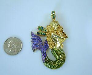 Kirks-Folly-Misty-Mermaid-Magnetic-Enhancer-Antique-Gold-Finish