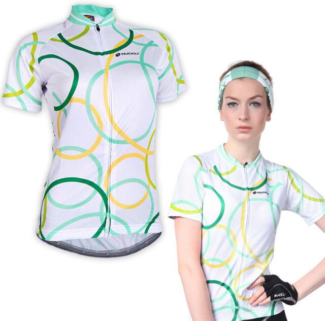 Women's Bike Jersey Sport Ciclismo Cycling Shirt Top Quick Dry Circle Gear Style