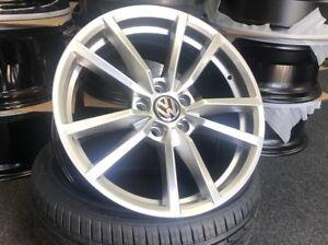 "18"" VW Golf R Pretoria Style Silver alloy wheels & 225/40/18 Winter tyres"