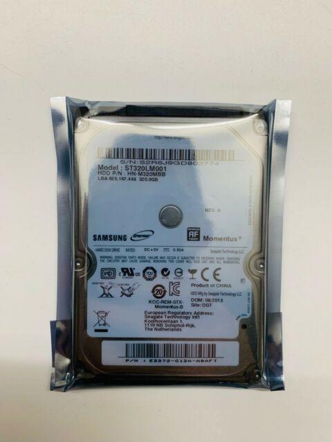 """Seagate Samsung ST320LM001 320GB 320 GB HDD 5400RPM 8MB 2.5"""" SATA Hard Drive"""