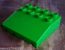 LEGO DUPLO costruzione piastra Tetto Tettoia Tenda da 5635 3596 Bob der Baumeister