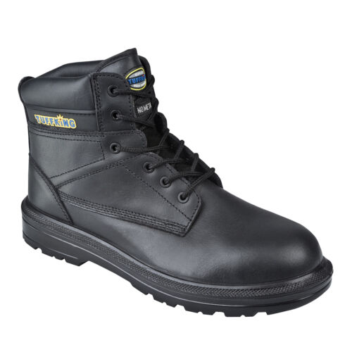 Tuffking 9158 S3 SRC Black Water Resistant Composite Toe Cap Safety Work Boots