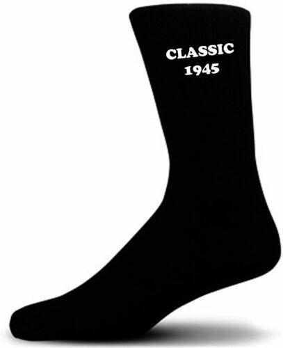 Classic 1945 on Black Socks A Great Birthday Gift