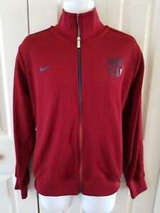 La imagen se está cargando Nike-Men-039-s-FC-Barcelona-N98-Chaqueta- 8fd37325bcc